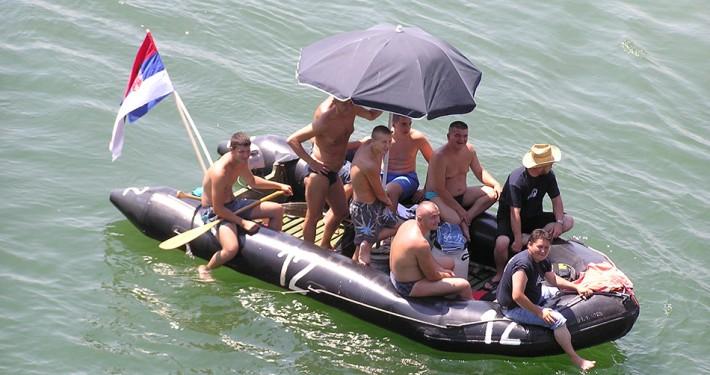 Hajdučka regata u Bogatiću